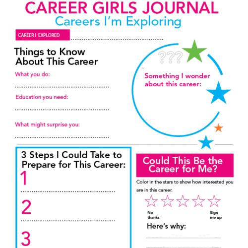 Explore Careers Career Girls
